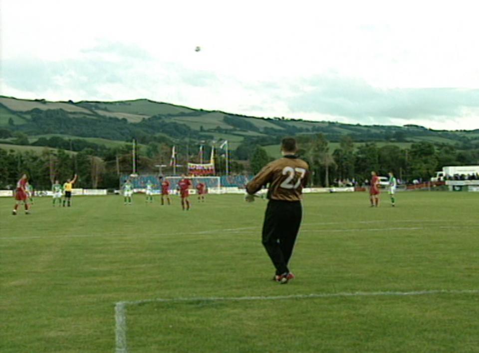 TNS Llansantffraid FC - Amica Wronki 2:7 (19.08.2002)