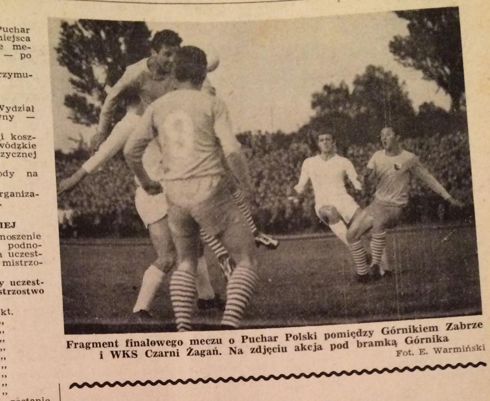 Piłka Nożna po Czarni Żagań - Górnik Zabrze 0:4 (02.06.1965) 3
