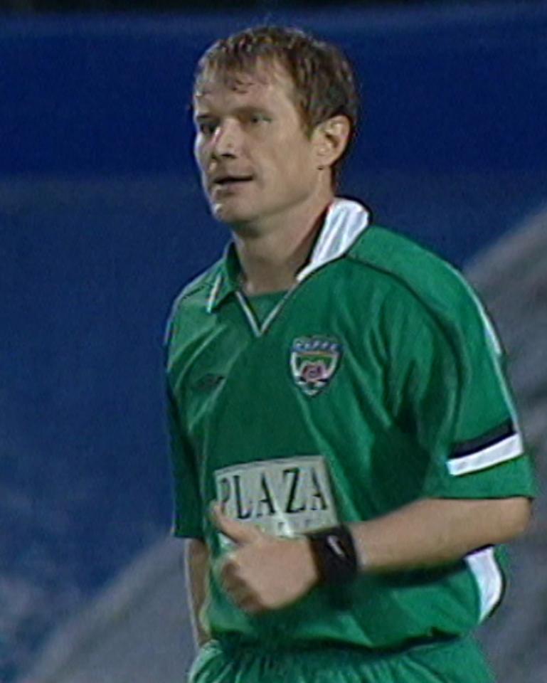Lech Poznań - Terek Grozny 0:1 (26.08.2004) Andriej Fiedkow