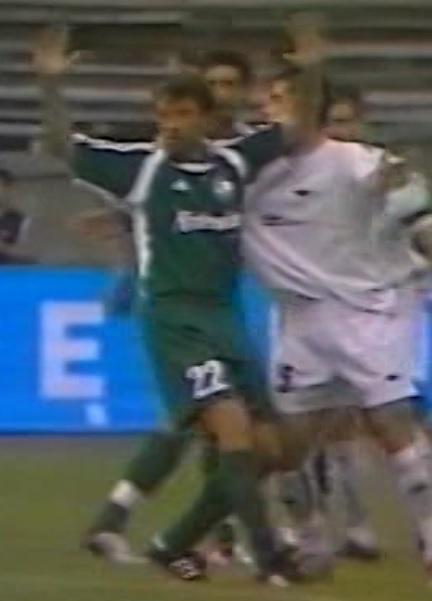 FC Tbilisi - Legia Warszawa 0:1 (12.08.2004) Tomasz Sokołowski I