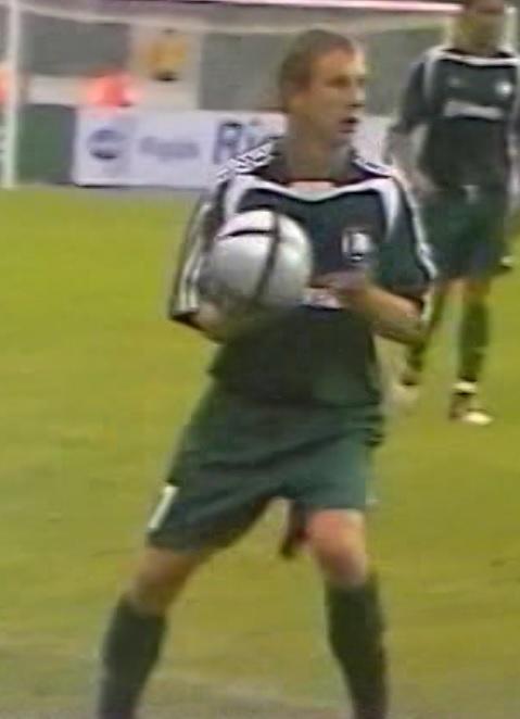 FC Tbilisi - Legia Warszawa 0:1 (12.08.2004) Tomasz Sokołowski II