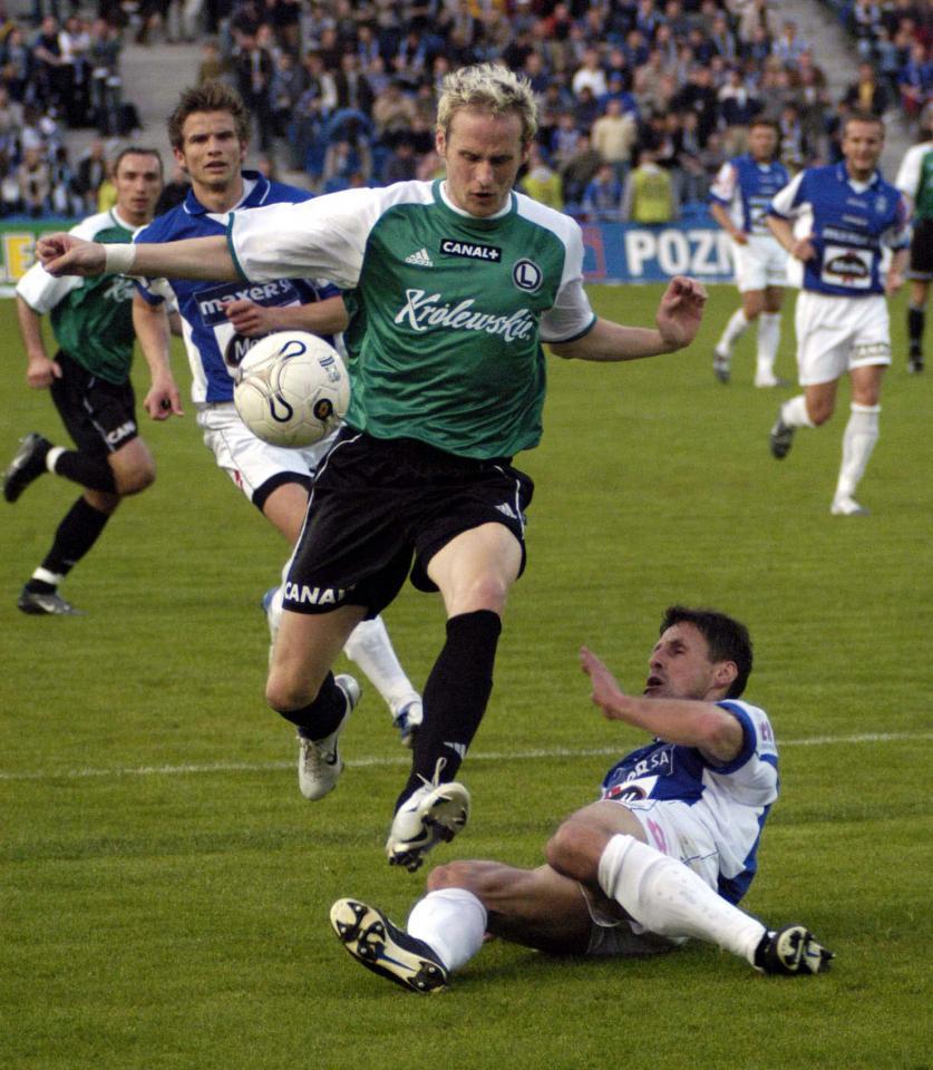 Piotr Włodarczyk, Legia Warszawa 2004.