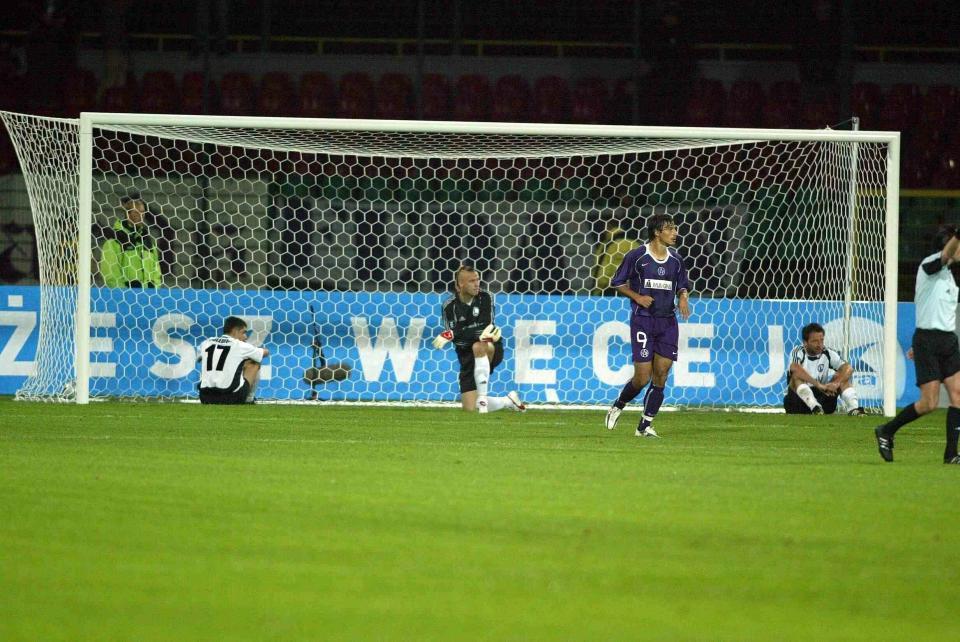 Legia Warszawa - Austria Wiedeń 1:3 (30.09.2004)