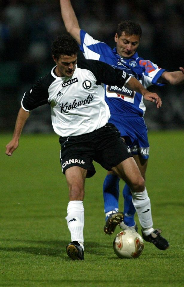 Manuel García, Legia Warszawa 2004.