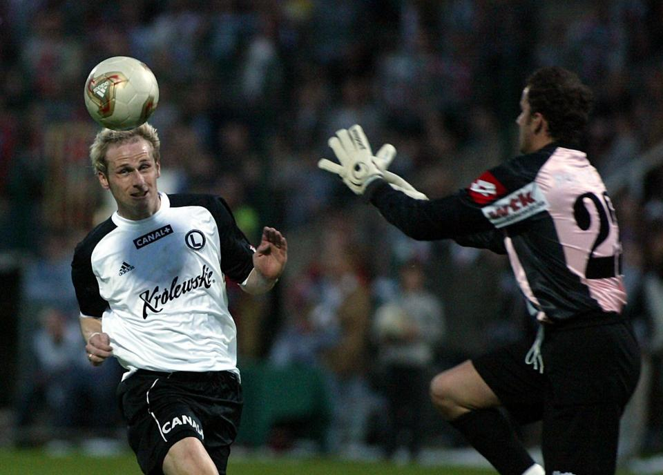 Legia Warszawa - Lech Poznań 1:0 (01.06.2004)