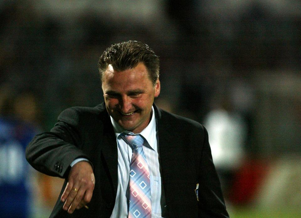 Czesław Michniewicz, trener Lecha Poznań (2004)