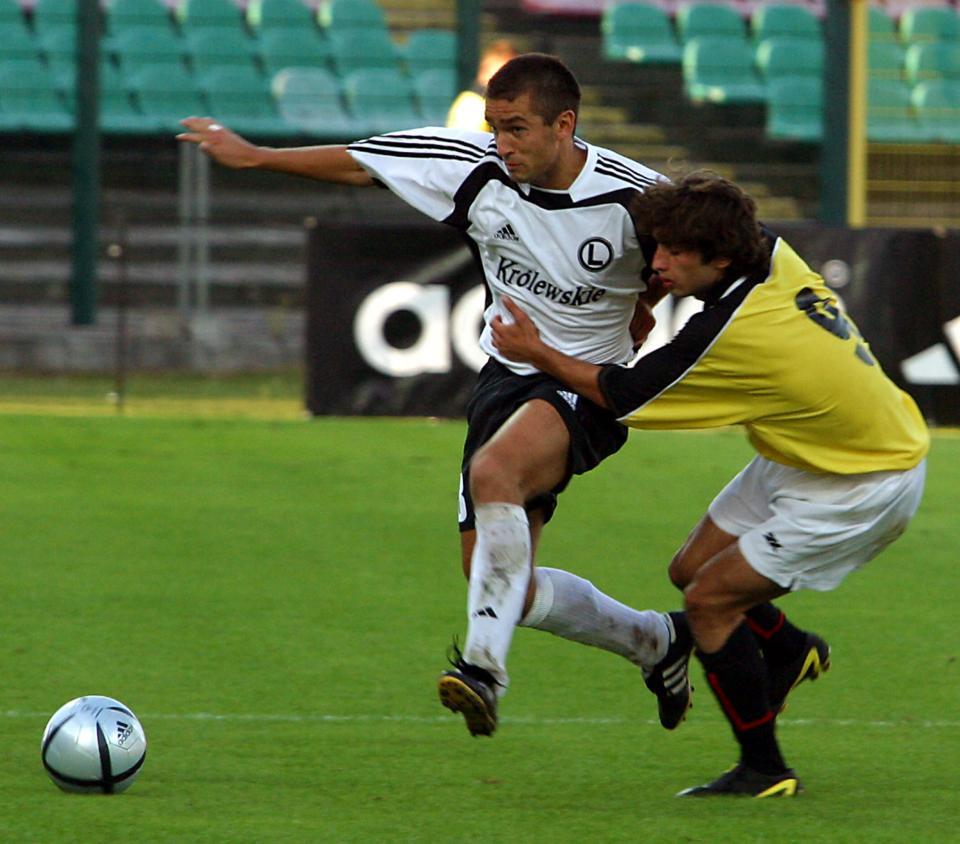 Legia Warszawa - FC Tbilisi 6:0 (26.08.2004) Łukasz Surma