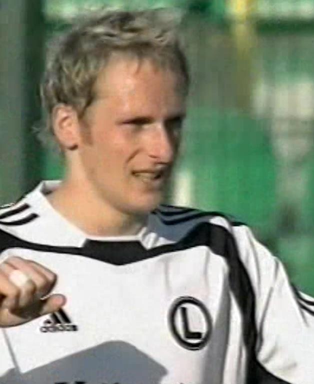 Legia Warszawa - FC Tbilisi 6:0 (26.08.2004) Piotr Włodarczyk
