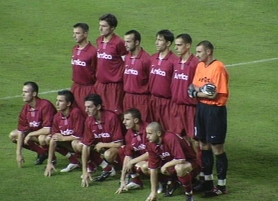 Malaga CF - Amica Wronki 2:1 (31.10.2002)