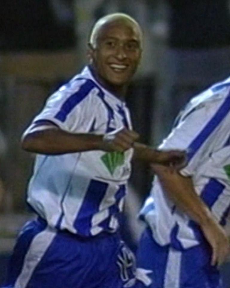 Malaga CF - Amica Wronki 2:1 (31.10.2002) Marcelo Romero