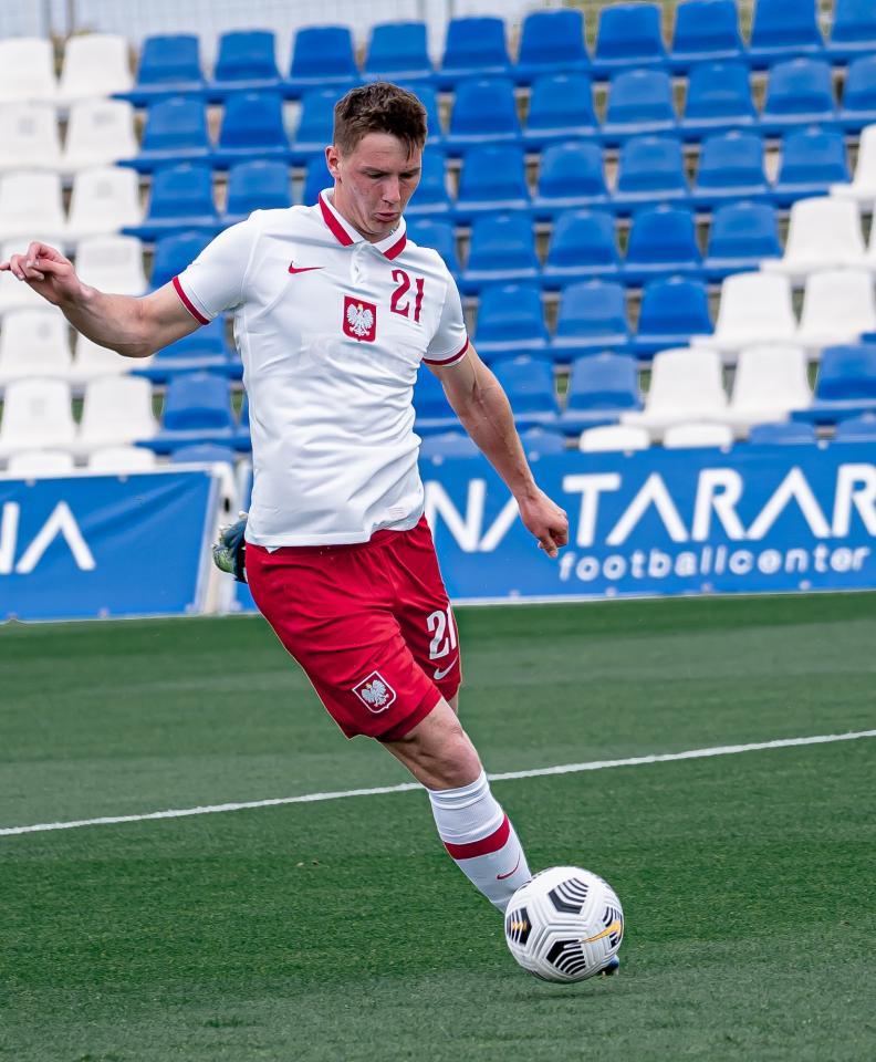 Polska - Austria 0:2 (29.03.2021) U21 Bartosz Białek