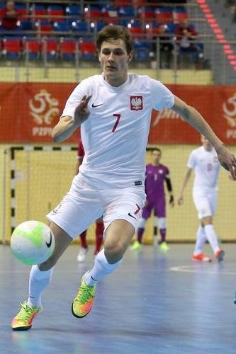 Mikołaj Zastawnik (Polska - Serbia 0:4 futsal, 08.04.2017).