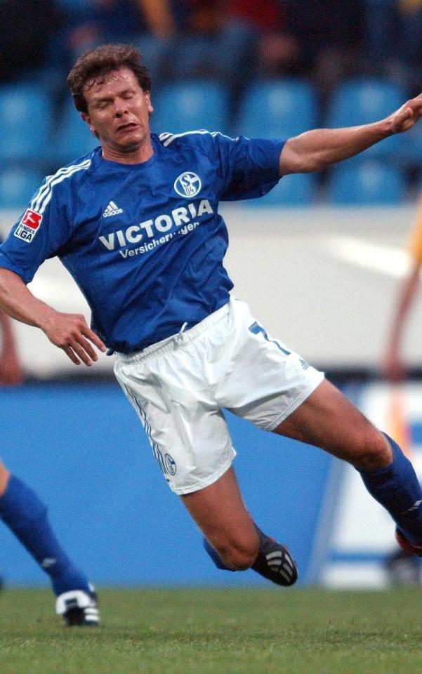 Andreas Möller (Schalke 04 Gelsenkirchen - Legia Warszawa 0:0, 14.11.2002)