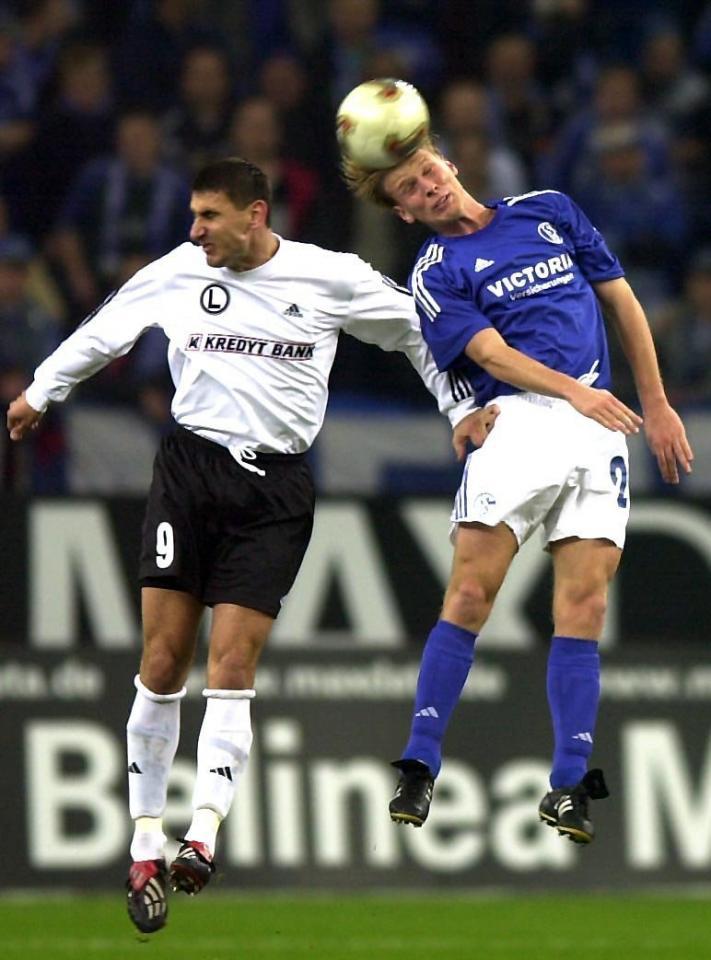 Schalke 04 Gelsenkirchen - Legia Warszawa 0:0 (14.11.2002)