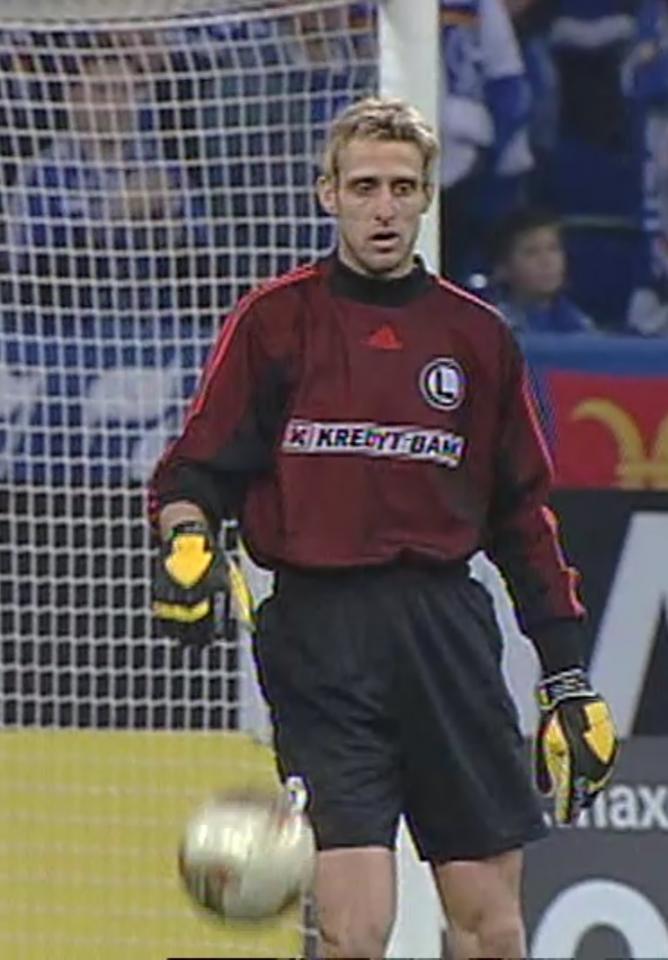 Radostin Stanew (Schalke 04 Gelsenkirchen - Legia Warszawa 0:0, 14.11.2002)