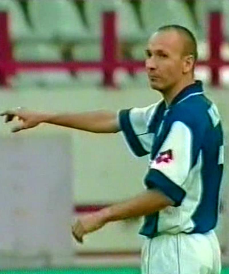 Terek Grozny - Lech Poznań 1:0 (12.08.2004) Adam Majewski