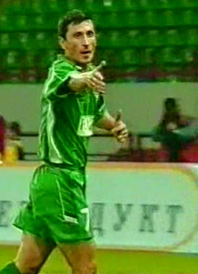 Terek Grozny - Lech Poznań 1:0 (12.08.2004) Dmitrij Chomucha