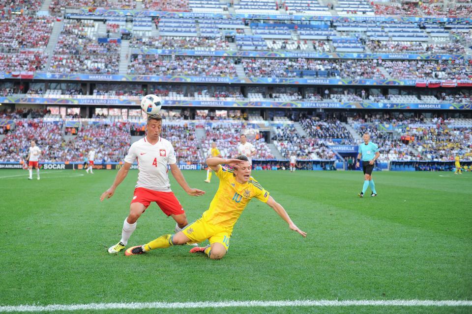 Thiago Cionek - 35. urodziny Polska - Ukraina 1:0 Euro 2016