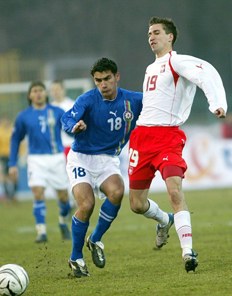 Polska - Azerbejdżan 3:0 (25.03.2005)