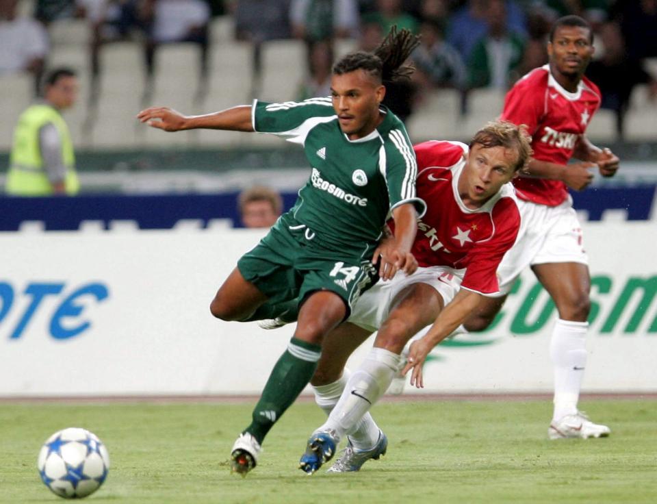 Panathinaikos Ateny - Wisła Kraków 4:1 (23.08.2005)