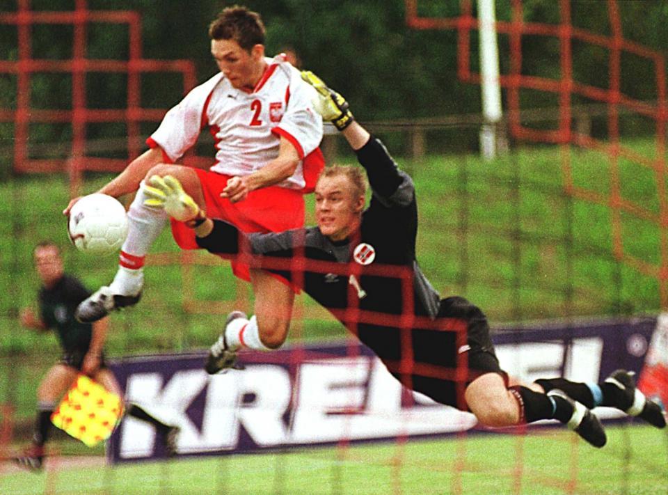 Polska - Norwegia 3:0 (31.08.2001) Damian Gorawski