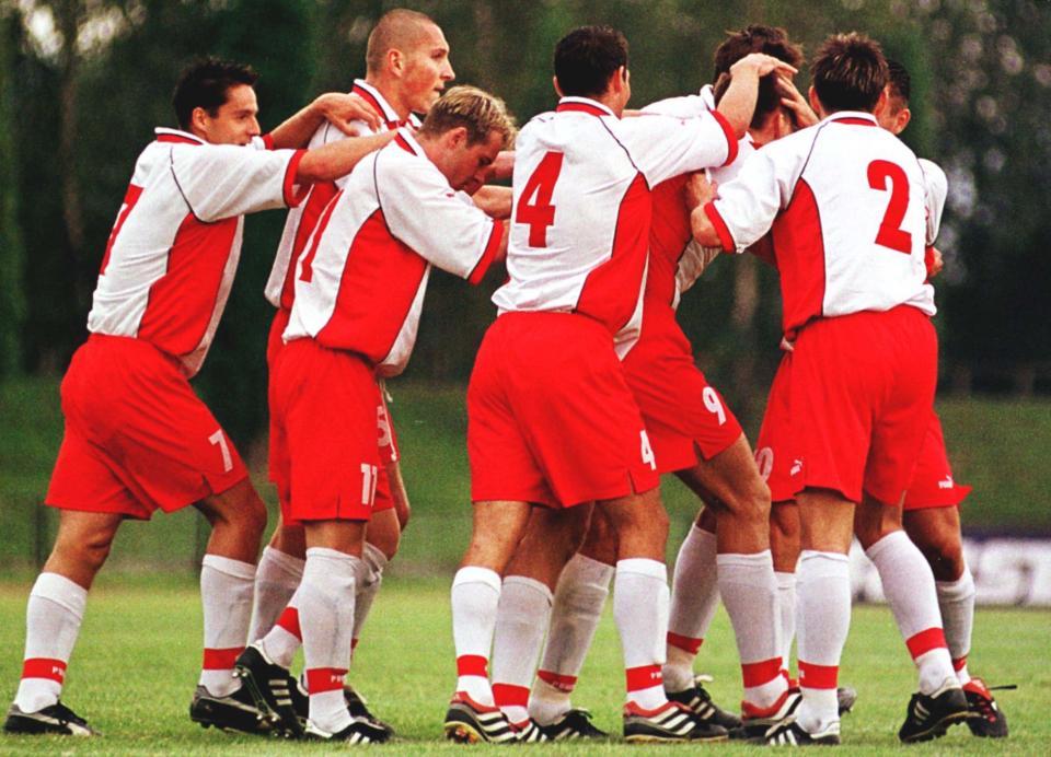 Polska - Norwegia 3:0 (31.08.2001)