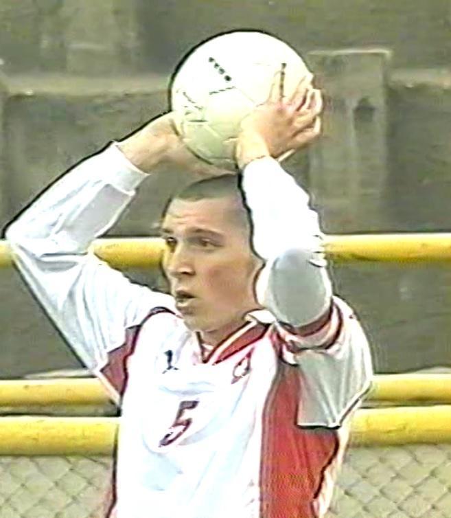 Polska - Ukraina 3:0 (05.10.2001) Mariusz Lewandowski