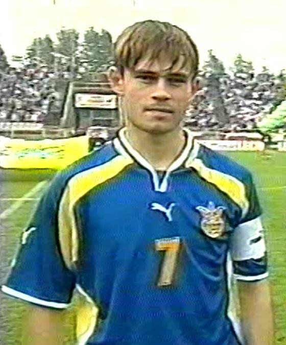 Polska - Ukraina 3:0 (05.10.2001) Serhij Tkaczenko