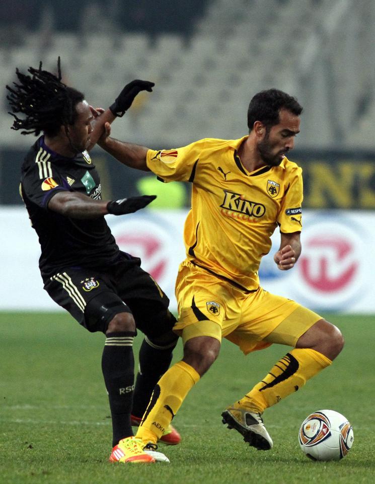 Roger Guerreiro - 39. urodziny, AEK Ateny