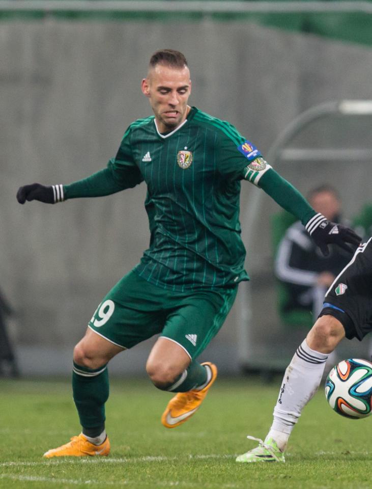 Marco Paixão (Śląsk Wrocław - Legia Warszawa 1:1, 12.02.2015)