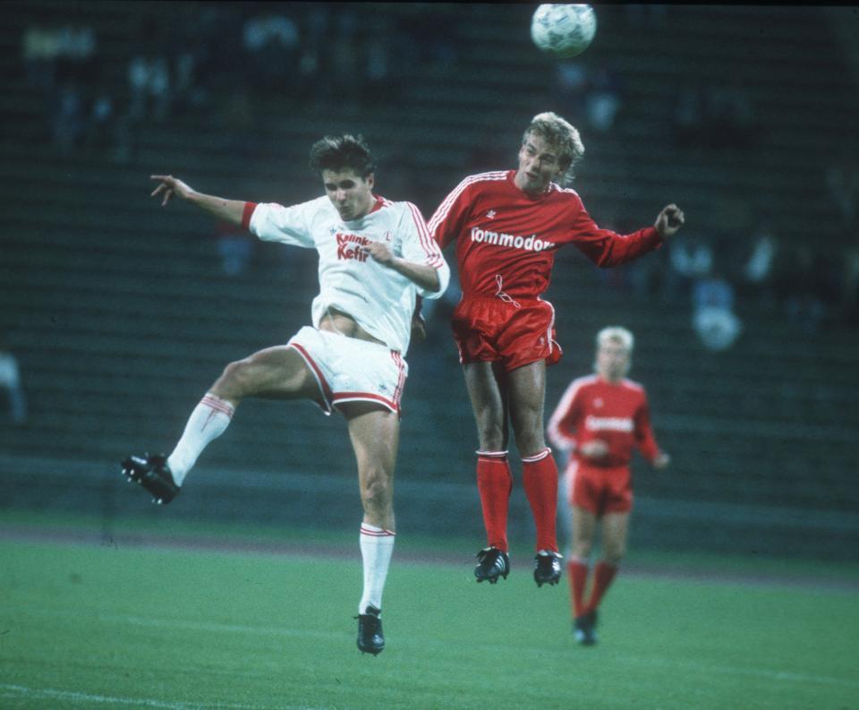 Bayern Monachium - Legia Warszawa 3:1 (07.09.1988)