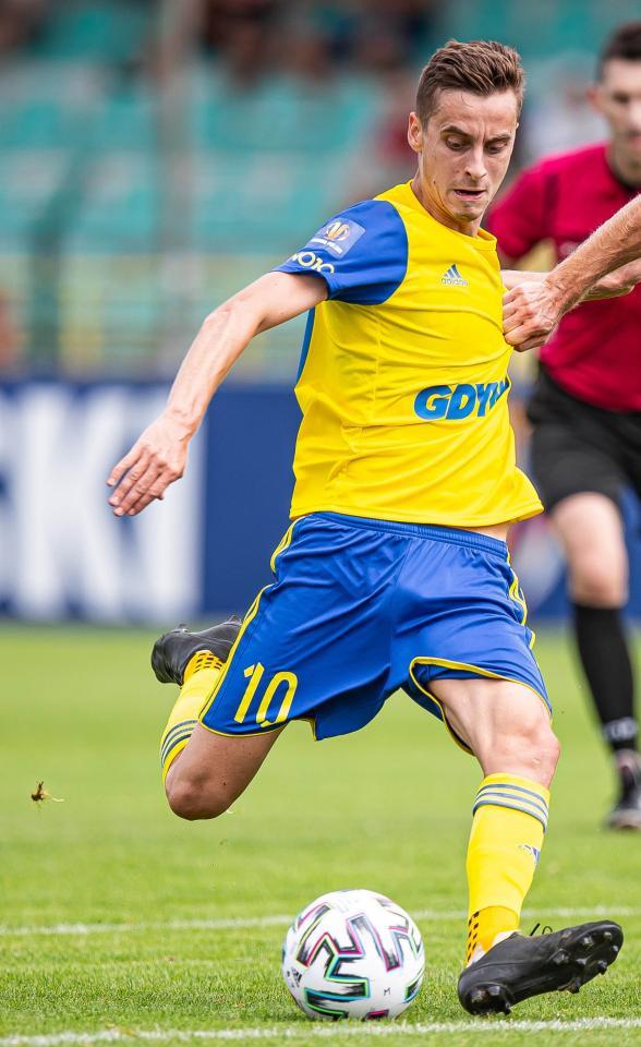 Górnik Polkowice - Arka Gdynia 0:5 (23.08.2020) Juliusz Letniowski