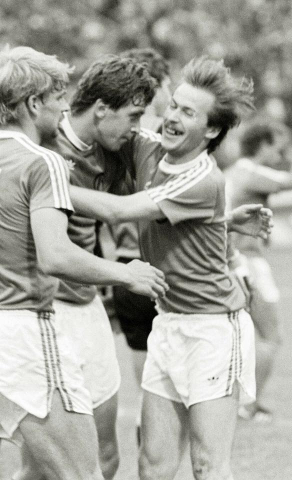 Krzysztof Iwanicki (Bayern Monachium - Legia Warszawa 3:1, 07.09.1988)