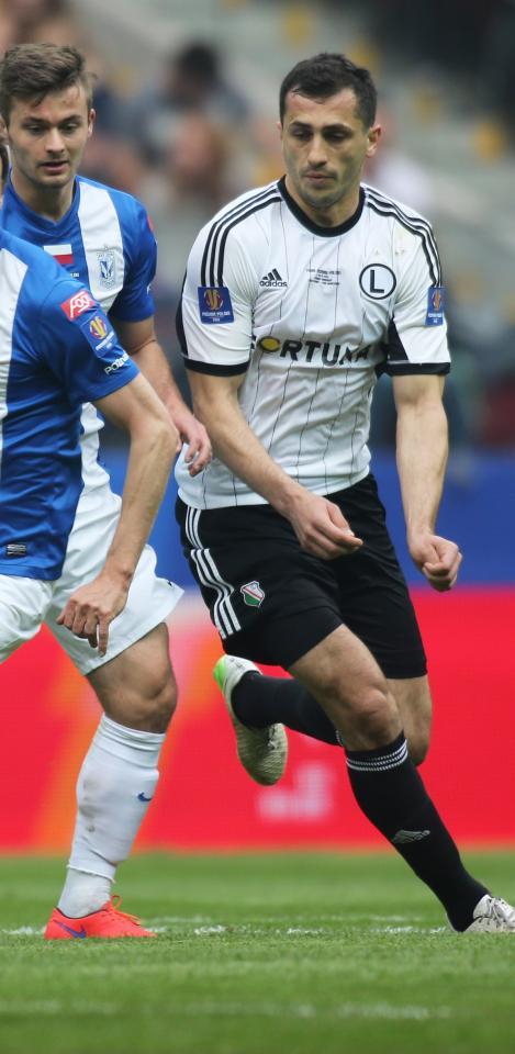 Tomasz Jodłowiec (Lech Poznań - Legia Warszawa 1:2, 02.05.2015)