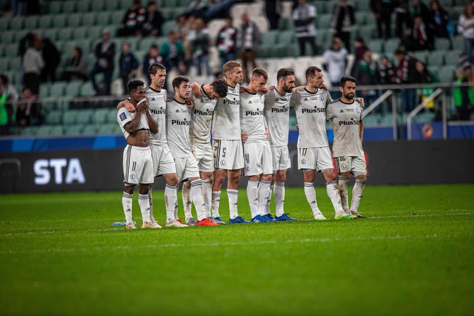 Legia Warszawa - Cracovia 0:0, k. 4-5 (09.10.2020)