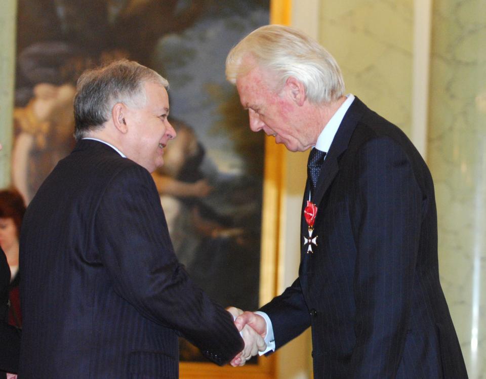 Leo Beenhakker - 79. urodziny Lech Kaczyński