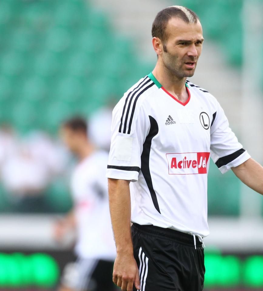 Danijel Ljuboja (Śląsk Wrocław - Legia Warszawa 1:1, k. 4-2, 12.08.2012)
