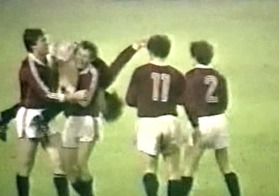 Sparta Praga - Widzew Łódź 3:0 (02.11.1983)