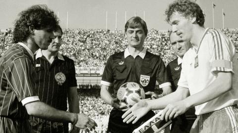 Grecja - Polska 1:4 (19.05.1985)