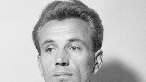 Stanisław Hachorek - piłkarz Gwardii Warszawa, lata 50-te