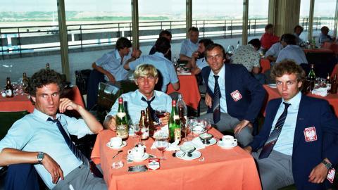 Powrót polskiej drużyny z mundialu 1982 (12.07.1982)