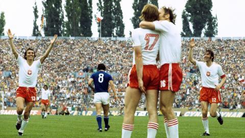 polska - włochy (23.06.1974)