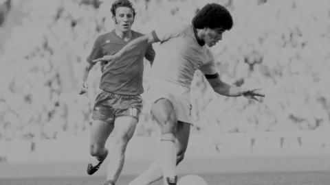 Adam Musiał podczas meczu z Brazylią o 3. miejsce na MŚ w 1974 roku.