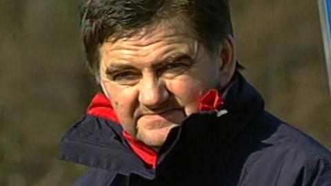 Edward Klejndinst podczas meczu Polska - San Marino 7:0 U-21 (01.04.2003)