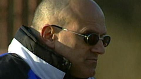 Ermanno Ferrari podczas meczu Polska - San Marino 7:0 U-21 (01.04.2003)