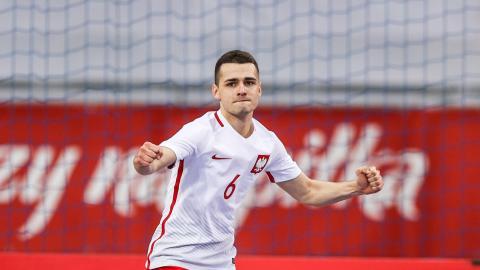 Polska - Norwegia 4:1 (09.03.2021) futsal Sebastian Grubalski