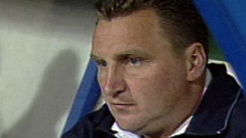 Lech Poznań - Terek Grozny 0:1 (26.08.2004) Czesław Michniewicz