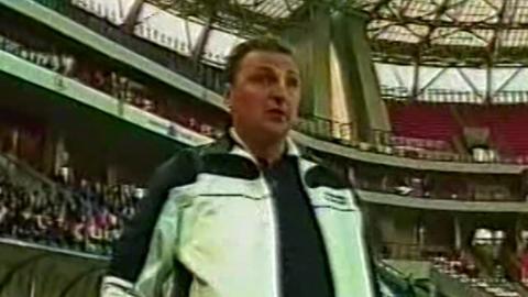 Terek Grozny - Lech Poznań 1:0 (12.08.2004) Czesław Michniewicz