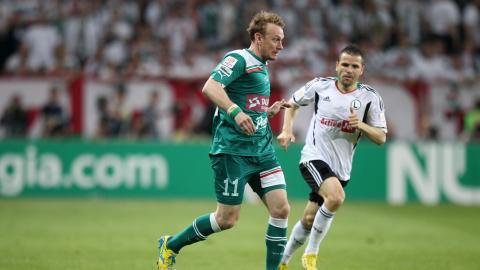 Legia Warszawa - Śląsk Wrocław 0:1 (08.05.2013) Sebastian Mila