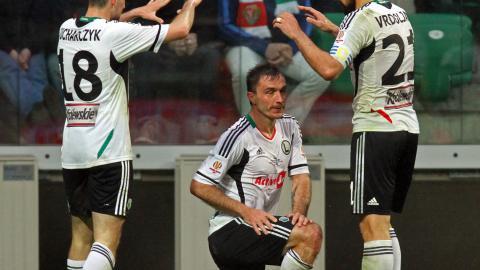 Śląsk Wrocław - Legia Warszawa 0:2 (02.05.2013) Marek Saganowski